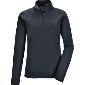 killtec KSW 240 Fleece Shirt Women, blauw